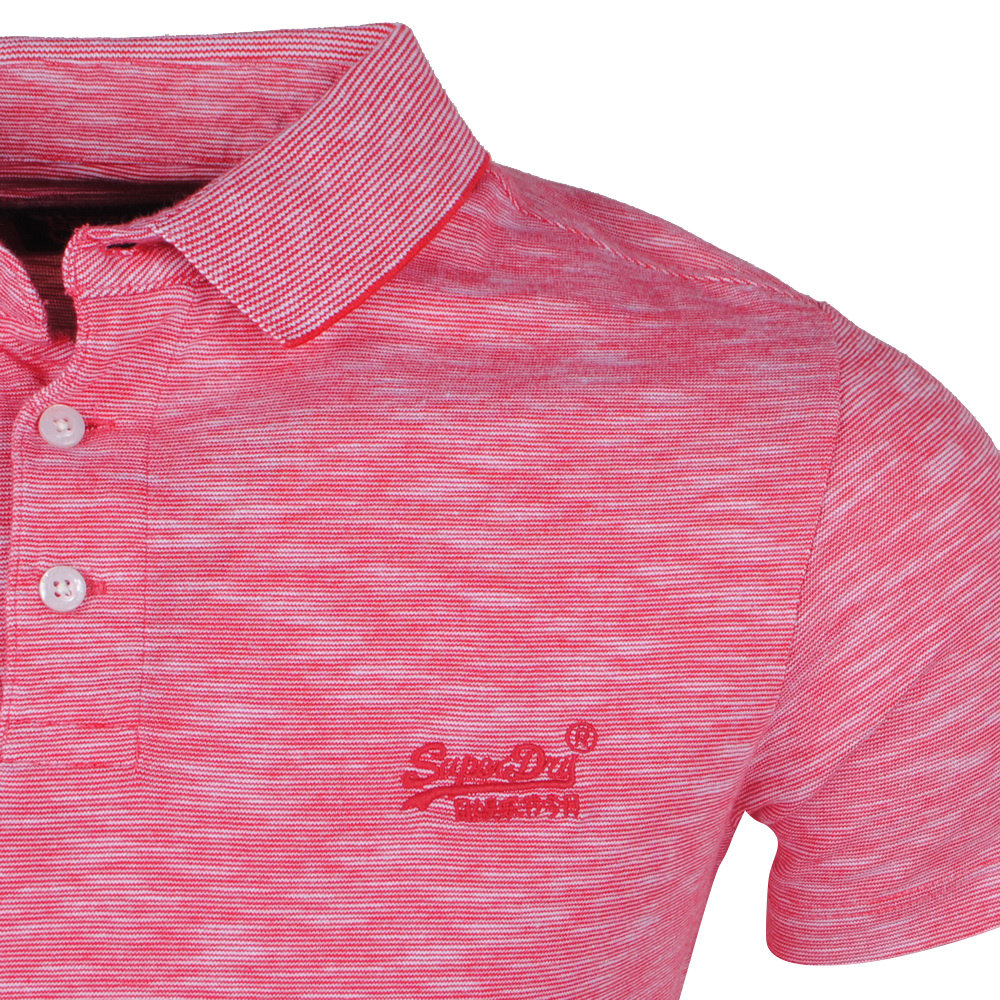 Superdry Superdry - Heren Polo - Jersey - Rood