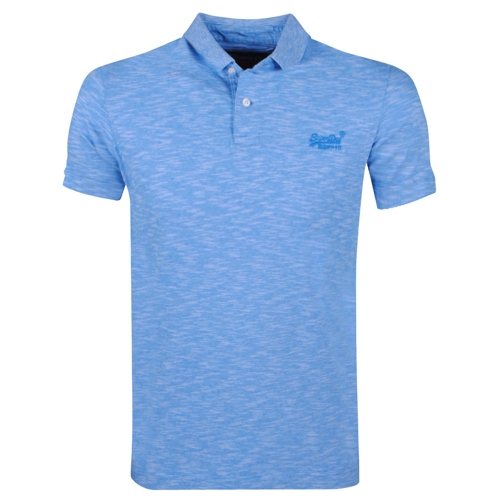 Superdry Superdry - Heren Polo - Jersey - Blauw
