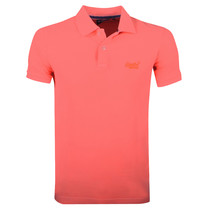 Superdry Superdry - Heren Polo - Destroy - Oranje