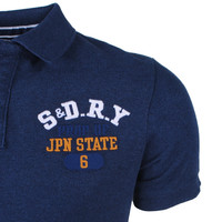 Superdry Superdry - Heren Polo - Superstate - Donkerblauw