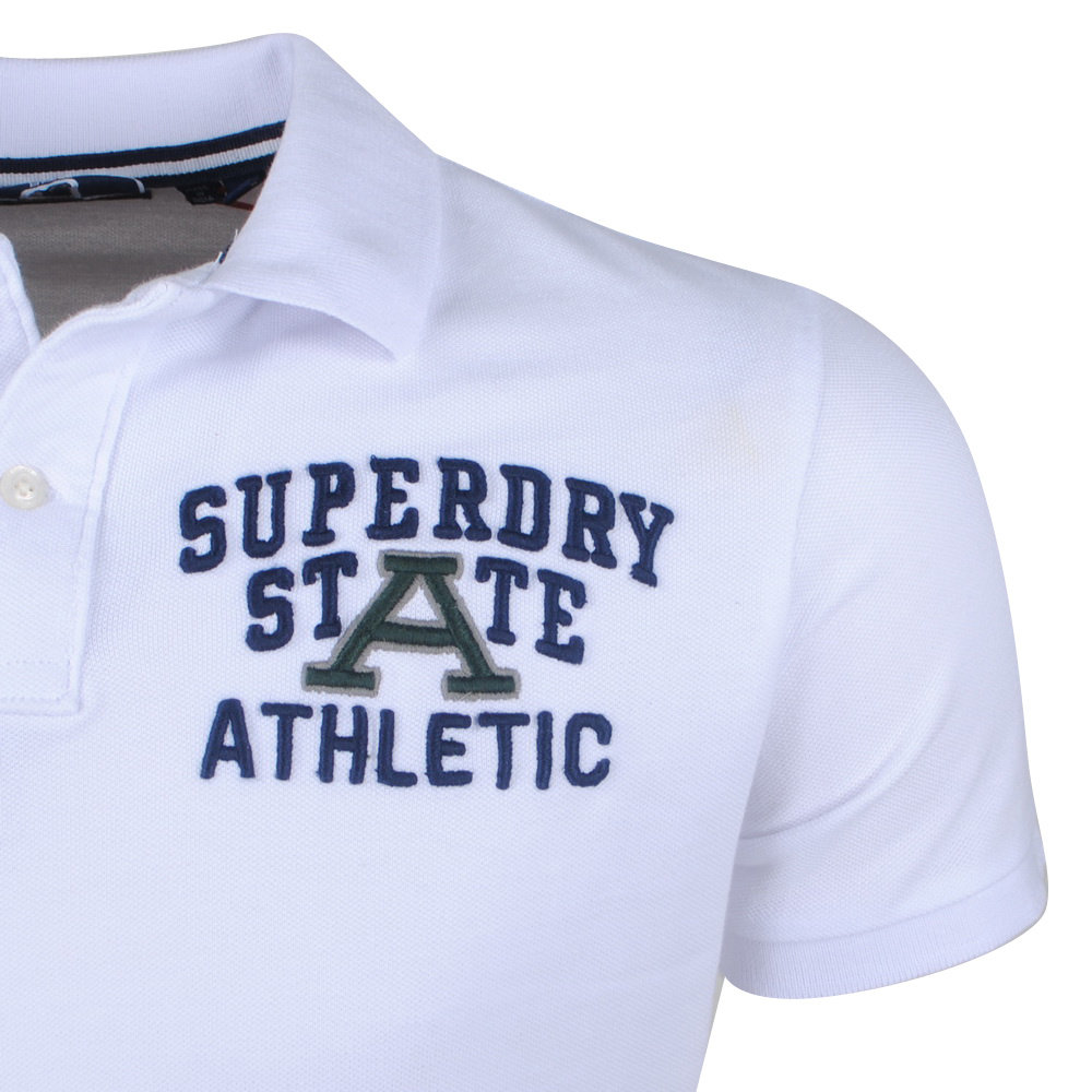Superdry Superdry - Heren Polo - Superstate - Wit