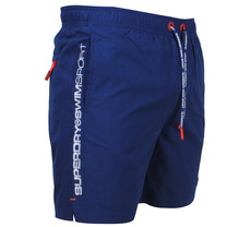 Superdry Superdry - Heren Zwembroek - Swimsport - Navy