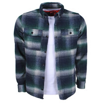 New Republic New Republic - Heren Overhemd - Overshirt - Flanel - Geblokt