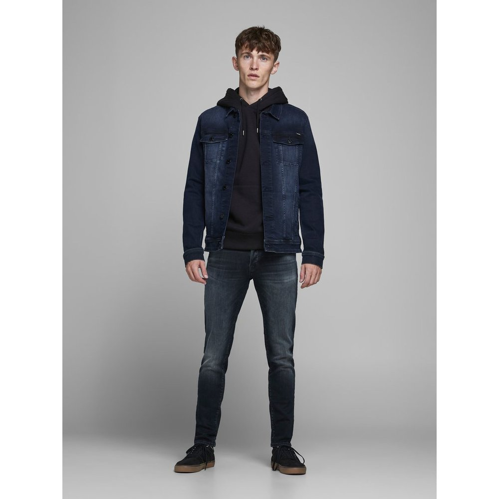 Jack and Jones Jack and Jones - Heren Jeans - Glenn Fox 104 - Dark Blue - Lengte 32