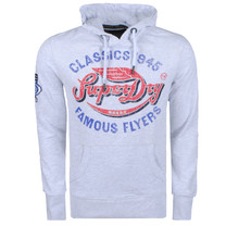 Superdry Superdry - Herren Sweater - Flyers - Grau