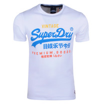 Superdry Superdry - Heren T-Shirt - Tri - Wit