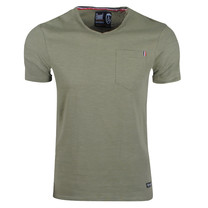 New Republic Earthbound - Men's T-Shirt - Chest Pocket - Army