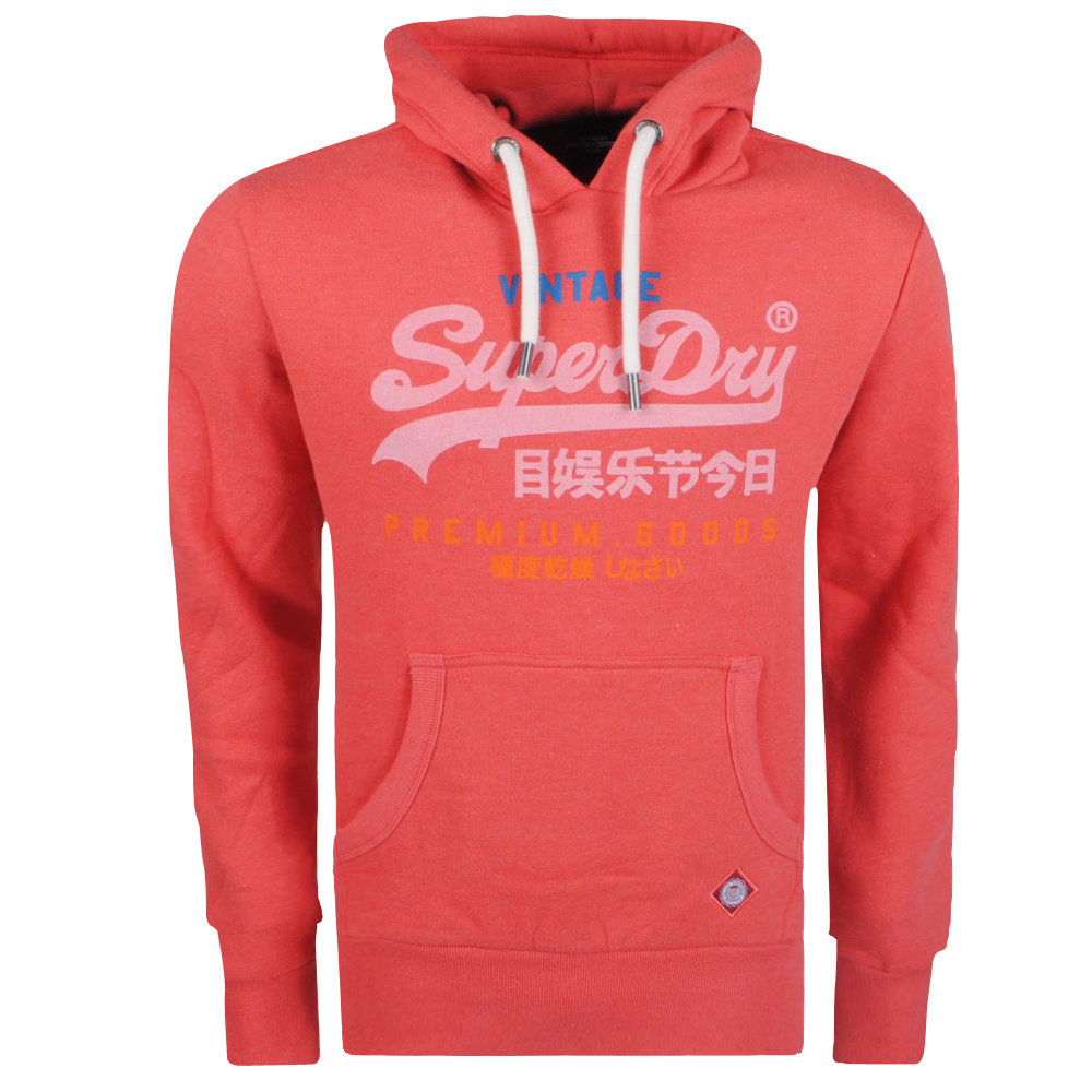 Superdry Superdry - Hoodie pour Homme - Tri - Rouge