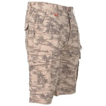 MZ72 MZ72 - Heren Bermuda - Fertil - Tropical - Beige