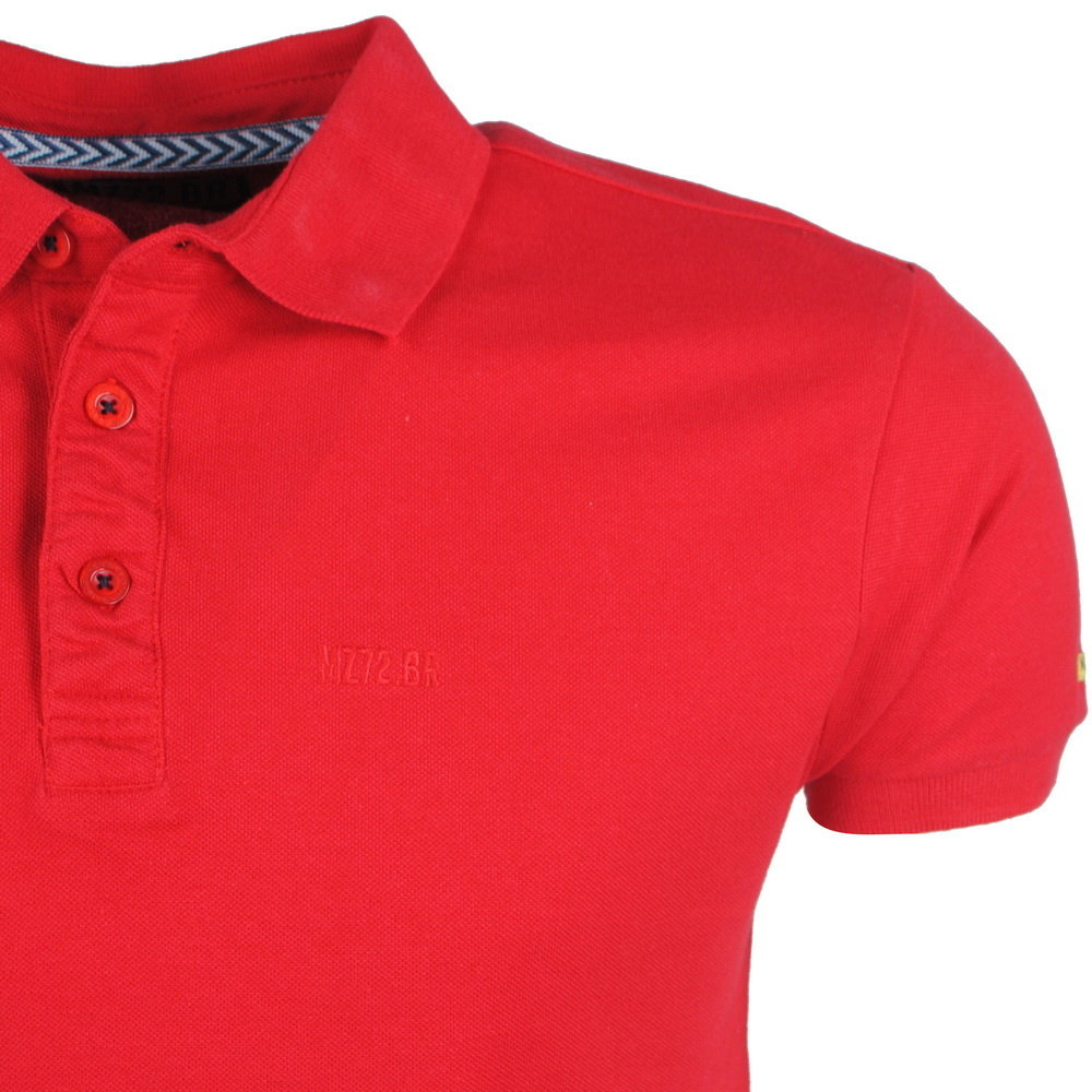 MZ72 MZ72 - Heren Polo - Pacify Sporty - Rood