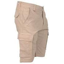 MZ72 MZ72 - Heren Bermuda - Cargo short - Friend - Beige