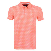 New Republic Refusion - Polo Homme - Model Stanwix - Coral