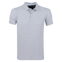 New Republic Refusion - Polo Homme - Model Stanwix - Gris