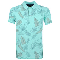 New Republic Refusion - Polo Homme - Tropical Design - Mint