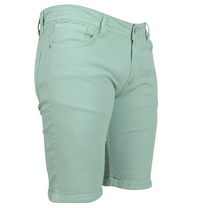 Ferlucci Ferlucci - Bermuda pour homme - Denim - Stretch - Model Rimini - Mint