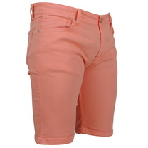 Ferlucci Ferlucci - Bermuda pour homme - Denim - Stretch - Model Rimini - Orange