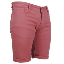 Ferlucci Ferlucci - Bermuda pour homme - Denim - Stretch - Model Rimini - Rose