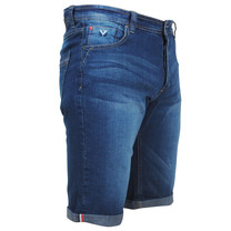MZ72 MZ72 - Heren Jeans Short - Stretch - Footing - Stone Washed