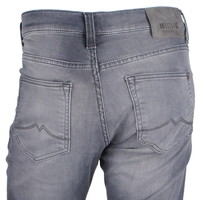 Mustang   Mustang - Jeans pour hommes - Longueur 32 - Tapered fit - Stretch - Oregon - Gris