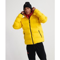 Superdry Superdry - Men's Winter Jacket - Ultimate Puffer - Yellow