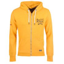 Superdry Superdry - Men's Re-Worked Classics Embroidered Zip Hoodie - Yellow