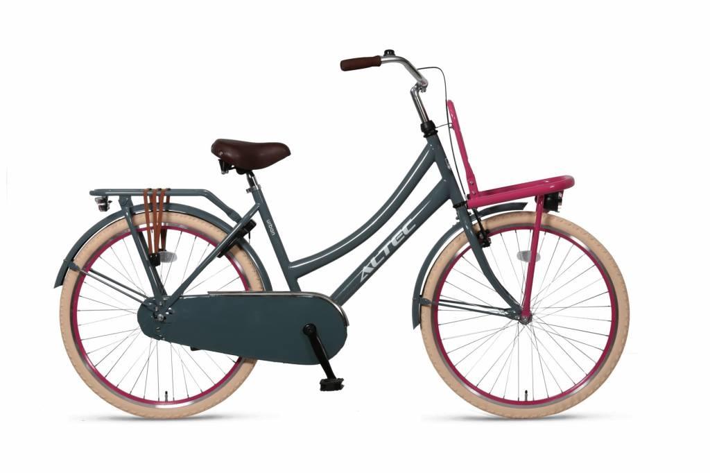Altec Urban transportfiets 26 inch Grijs/Roze online kopen