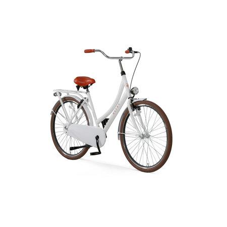 Altec London Omafiets 28 inch  Sparkle White
