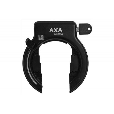 Axa Solid PLUS Ringslot Zwart 1050