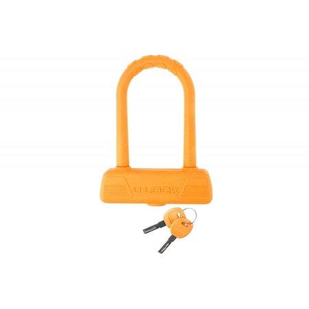 Beugelslot B189 231087 Oranje