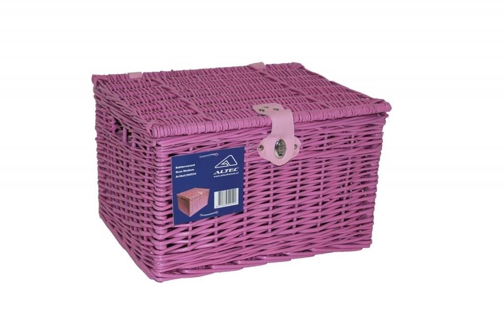 Bakkersmand Roze Medium 41x34x27