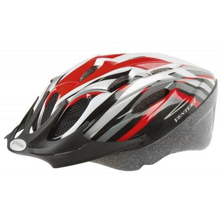 Helm Ventura 731034 Rood/Zwart M 53-57