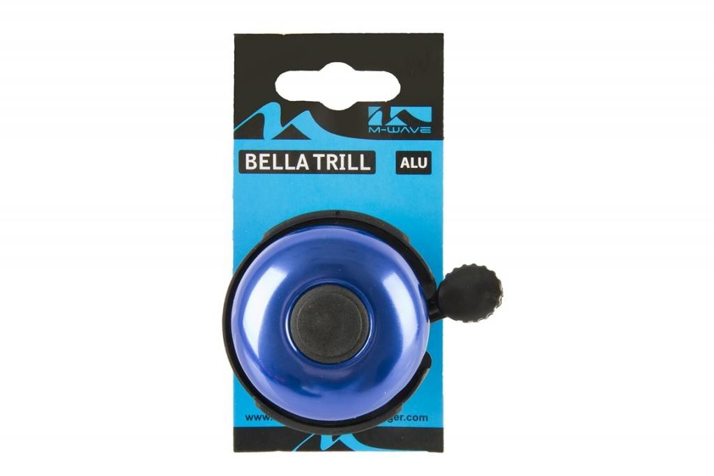 Fietsbel Aluminium 420154 Blauw