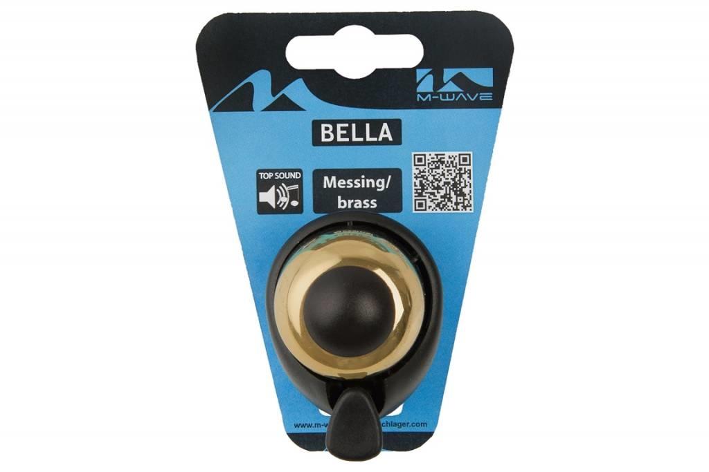 Fietsbel Aluminium 420067 XL Dezibel Goud