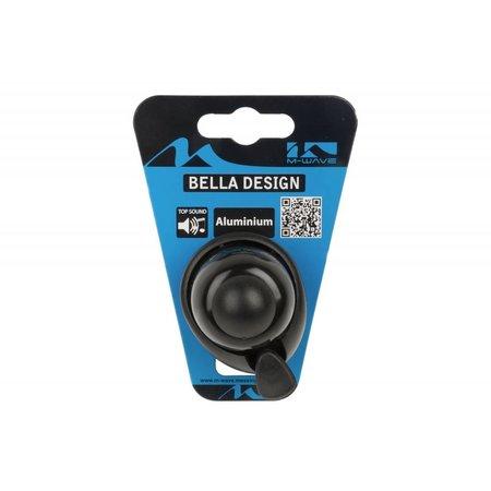 Fietsbel Aluminium 420066 XL Dezibel Zwart