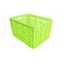 Kunststof Krat Medium 40x31x23 Groen