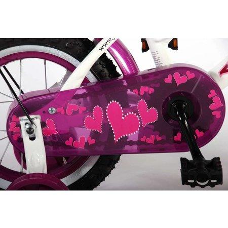 Volare Yipeeh Heart Cruiser 12 inch Meisjesfiets