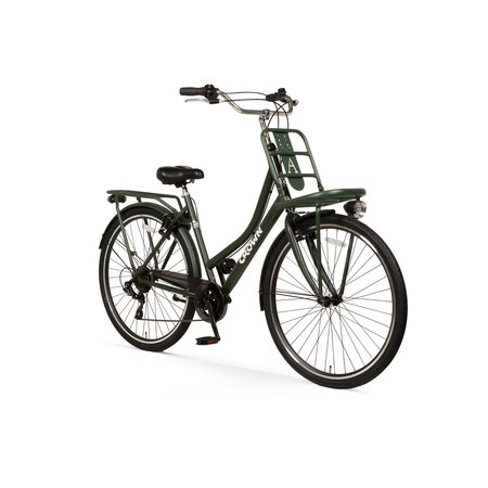 Crown Berlin 28 inch stadsfiets 53cm 7v Army Green