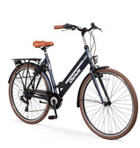 Crown New York 28 inch stadsfiets 55cm 7v Jeans Blue