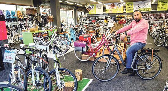 Micheal Wolters en zijn ervaring met de elektrische fiets