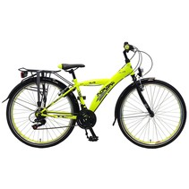 Volare Thombike City Shimano 21 speed 26 inch jongensfiets Neon Yellow Black 95% afgemonteerd