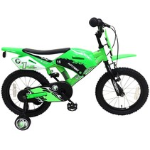 Volare Motobike 16 inch jongensfiets met twee handremmen
