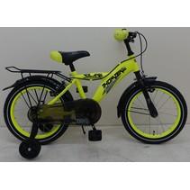Volare Thombike City 16 inch jongensfiets Neon Geel V-brake