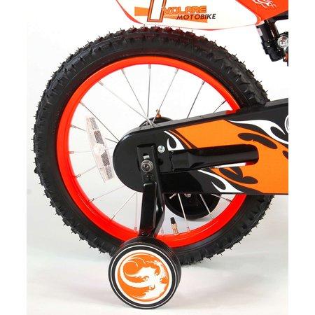 Volare Motorbike 16 inch jongensfiets V-brake