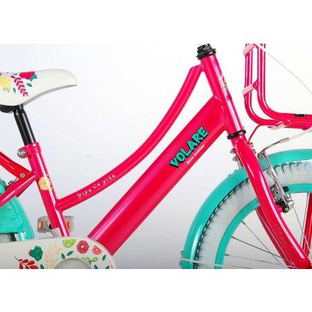 Volare Ibiza 18 inch meisjesfiets 95% Roze