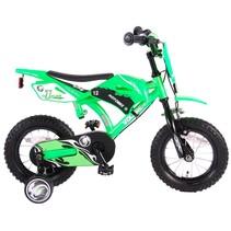 Volare Motobike 12 inch jongensfiets groen V-brake