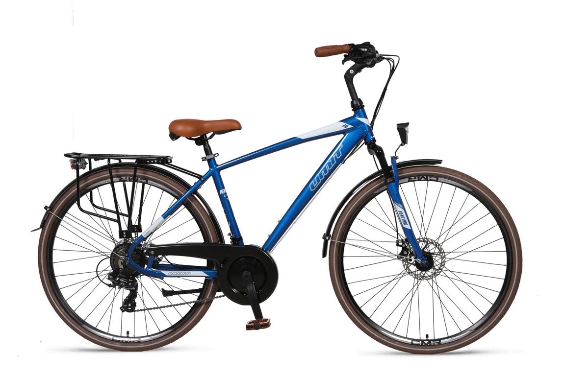 Umit Ventura 28inch herenfiets 51cm 21v Blue-White
