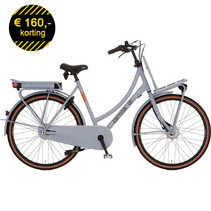 Cortina E-U4 Transport Damesfiets Neutral Grey Matt