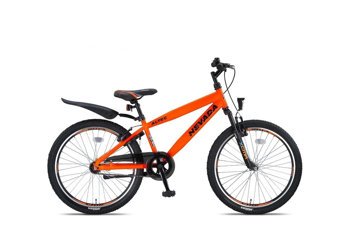 Altec Nevada 24 inch Jongensfiets Neon Orange