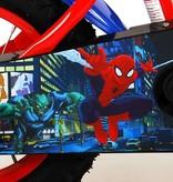 Ultimate Spider-Man Kinderfiets - Jongens - 12 inch - Blauw/Rood