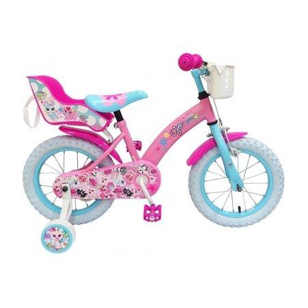 OJO Kinderfiets - Meisjes - 14 inch - Roze